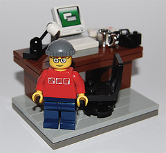 Lego Blogger Picture