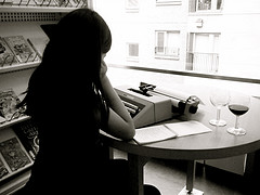 Don't Disturb! Writer At Work